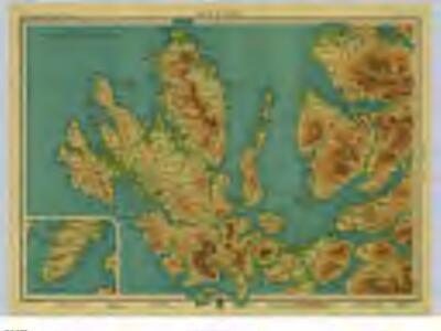 Isle of Skye Sheet 19  Bartholomews Half Inch to the Mile Maps