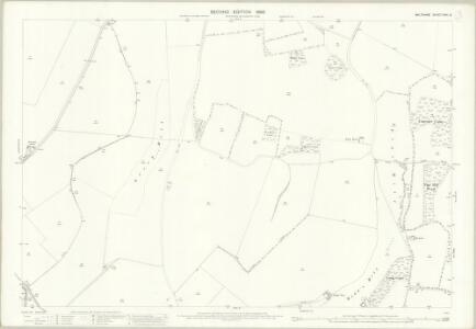 Wiltshire XXIV.9 (includes: Aldbourne; Baydon; Ramsbury) - 25 Inch Map