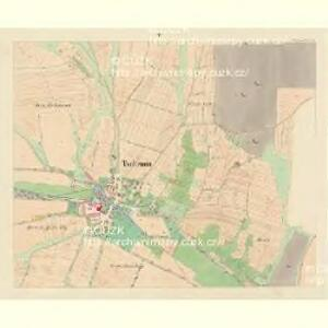 Tschemin (Czemin) - c0842-1-005 - Kaiserpflichtexemplar der Landkarten des stabilen Katasters