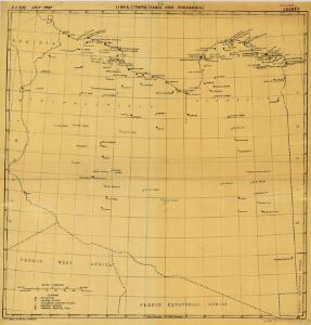 Lybia (Tripolitania y Cyenaica)