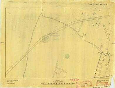 Cyprus 1: 2, 500 (Sheet XXI 37E2) 1950