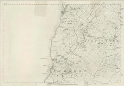Cumberland LXI - OS Six-Inch Map