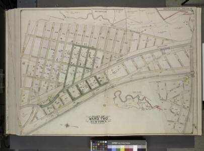 Queens, Vol. 2, Double Page Plate No. 46; Part of     Ward Two Newtown; [Map bounded by Meteor St., Livingstone St., Kelvin St., Jewel St., Ibis St., Harvest St., Gown St., Fife St., Euclid St., Dekoven St.,         Chittenden St., Balfour St., Atom S