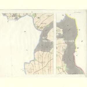Gross Aurzim (Welky Auřim) - c8466-1-006 - Kaiserpflichtexemplar der Landkarten des stabilen Katasters