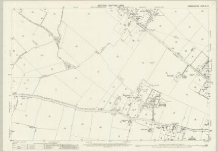 Cambridgeshire XL.13 (includes: Cambridge; Coton; Girton; Impington; Madingley) - 25 Inch Map