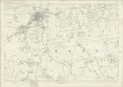 Hampshire & Isle of Wight XCV - OS Six-Inch Map