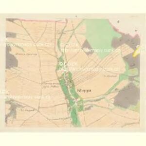 Kloppa (Klopina) - m1205-1-001 - Kaiserpflichtexemplar der Landkarten des stabilen Katasters
