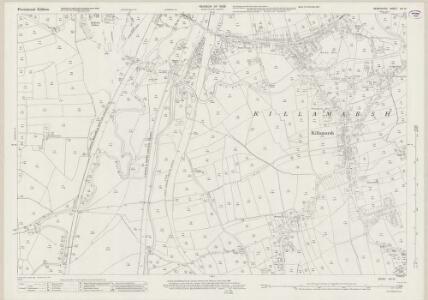 Derbyshire XIII.13 (includes: Eckington; Killamarsh) - 25 Inch Map