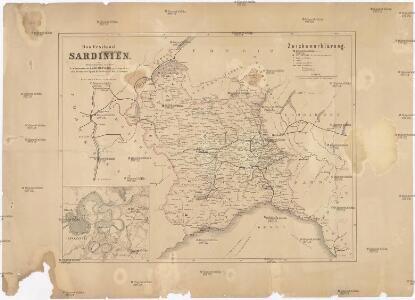 Das Festland Sardinien