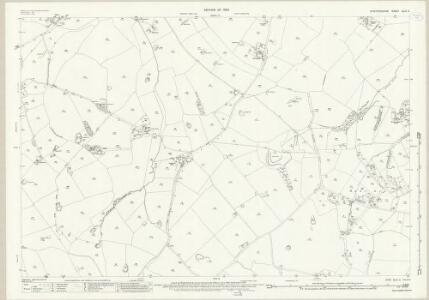 Staffordshire XLIV.2 (includes: Bradley; Castle Church; Coppenhall; Stafford) - 25 Inch Map
