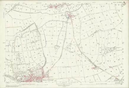Somerset LXXXVIII.8 (includes: Hinton St George; Lopen; Merriott; Seavington St Mary) - 25 Inch Map