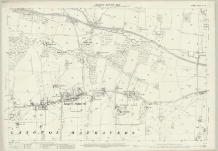Dorset LVI.12 (includes: Langton Matravers; Swanage; Worth Matravers) - 25 Inch Map