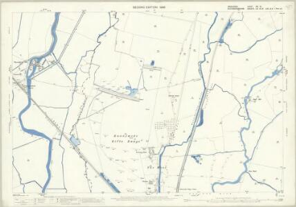 Middlesex XIX.10 (includes: Horton; Staines; Stanwell; Wyrardisbury) - 25 Inch Map
