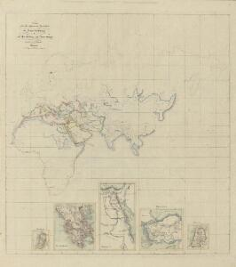 II. Charte für die allgemeine Geschichte von Troja's Zerstörung bis auf den Anfang der Perserkriege : d.i. von 1184 bis 501 vor Christus