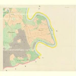 Hollubau - c1978-1-006 - Kaiserpflichtexemplar der Landkarten des stabilen Katasters
