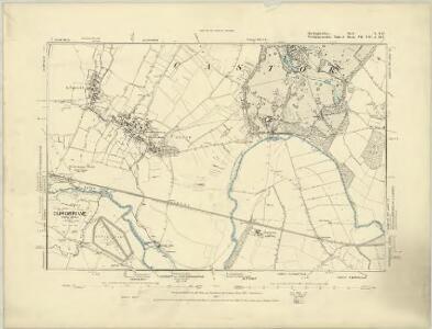 Huntingdonshire I.SE - OS Six-Inch Map