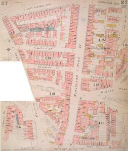 Insurance Plan of London North District Vol. E: sheet 7-1