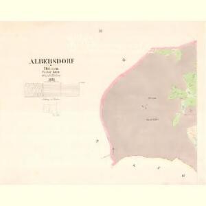 Albersdorf - c5777-1-003 - Kaiserpflichtexemplar der Landkarten des stabilen Katasters
