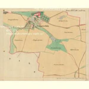 Ungarschitz - m3195-1-002 - Kaiserpflichtexemplar der Landkarten des stabilen Katasters
