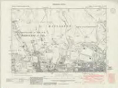 Sussex LXV.NE - OS Six-Inch Map
