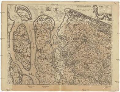 Delflandia, Schielandia, et insulae trans Mosam illis objacentes ut sunt Voorna, Over Flackea, Goerea, Ysel Monda, etc