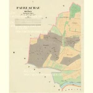 Payreschau - c0401-1-001 - Kaiserpflichtexemplar der Landkarten des stabilen Katasters