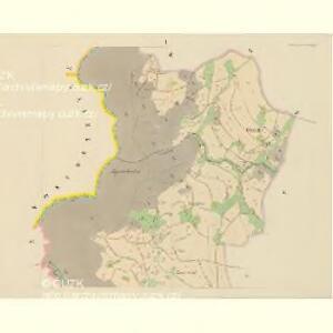 Klein Aurzim (Maly Auřim) - c4462-1-001 - Kaiserpflichtexemplar der Landkarten des stabilen Katasters