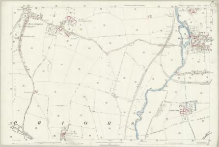 Warwickshire XLIII.9 (includes: Bidford on Avon; Salford Priors; Wixford) - 25 Inch Map