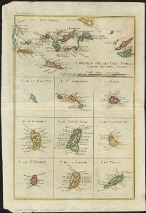 Supplement pour les Isles Antilles, extrait des carte Angloises