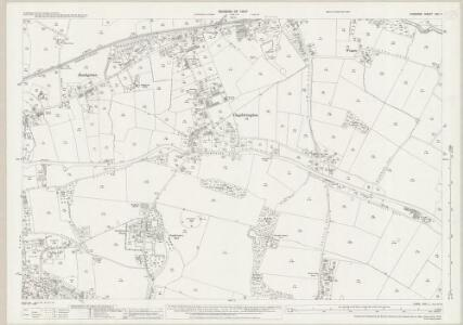 Cheshire XVII.7 (includes: Lymm) - 25 Inch Map