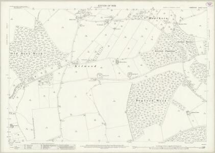 Hampshire and Isle of Wight XLIII.5 (includes: East Tisted; Four Marks; Newton Valence; Ropley) - 25 Inch Map