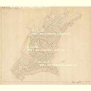 Nikolsburg - m1785-1-011 - Kaiserpflichtexemplar der Landkarten des stabilen Katasters