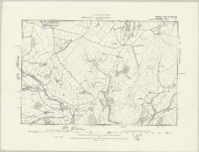 Radnorshire V.SW - OS Six-Inch Map