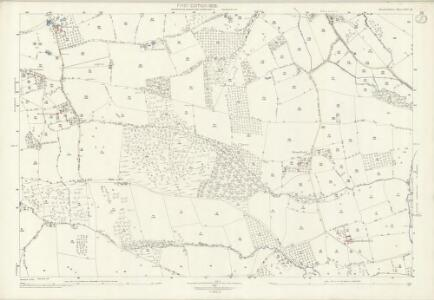 Herefordshire XIII.16 (includes: Edvin Ralph; Hatfield; Thornbury; Wacton) - 25 Inch Map