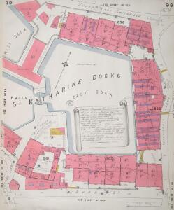 Insurance Plan of London Vol. V: sheet 99