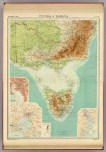 Victoria & Tasmania.