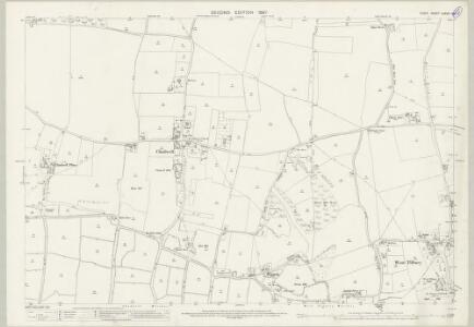 Essex (1st Ed/Rev 1862-96) LXXXIV.9 (includes: Thurrock) - 25 Inch Map