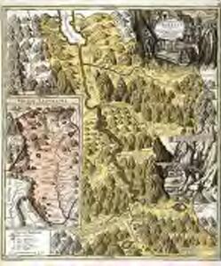 Pagus helvetiæ Uriensis cum subditis suis in Valle Lepontina accuratissima delineatio