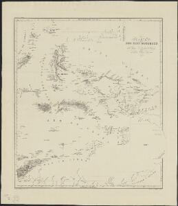 Carte des iles Moluques