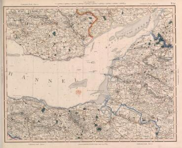 Cary's Improved Map of England and Wales