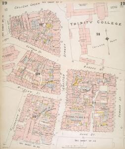 Insurance Plan of the City of Dublin Vol. 1: sheet 19