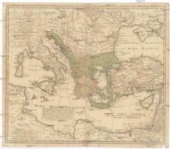 Imperii Tvrcici Evropaei terra, in primis Graecia cum confiniis