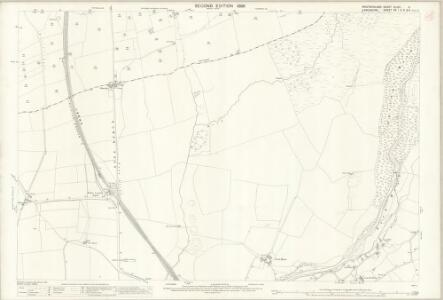 Westmorland XLVIII.9 (includes: Burrow With Burrow; Casterton; Leck) - 25 Inch Map