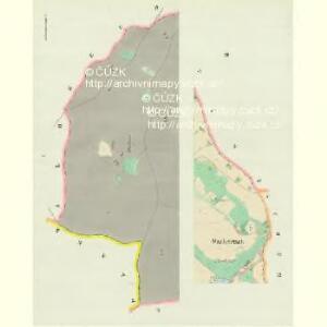 Wschetetsch (Wssetec) - c8913-1-001 - Kaiserpflichtexemplar der Landkarten des stabilen Katasters