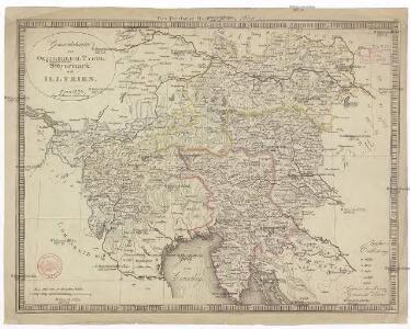 Generalcharte von Oesterreich, Tyrol, Steyermark und Illyrien