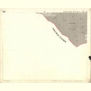 Chodenschloss - c7957-1-012 - Kaiserpflichtexemplar der Landkarten des stabilen Katasters