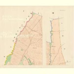 Leipnik - m1568-1-001 - Kaiserpflichtexemplar der Landkarten des stabilen Katasters