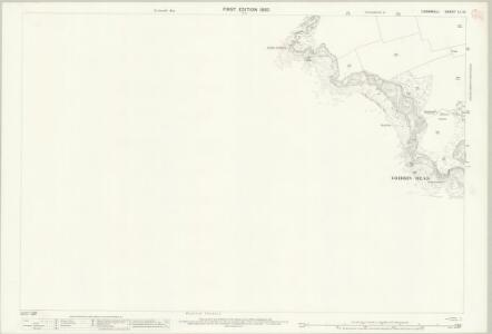 Cornwall LI.15 (includes: Fowey) - 25 Inch Map