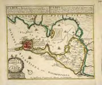 Insula Gaditana vulgo Isla de Cadiz