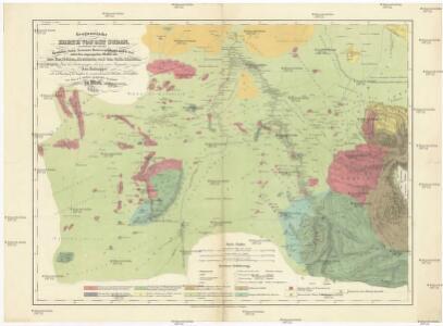 Geognostiche Karte von ost Sudan, umfaßsend dei Länder Kordofan, Nuba, Sennaar, Roserres, Faßsokl und el Pert nebst den angrenzenden Theilen von Dar Fur, Nubien, Ab eßsinien und den Galla Ländern
